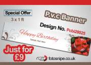 Poster printing services online uk