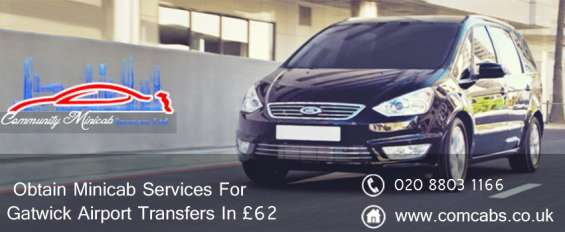 Get the most affordable and efficient airport transfer services in gatwick