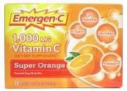 Buy emergen-c 1000 mg vitamin c super orange with vitapure