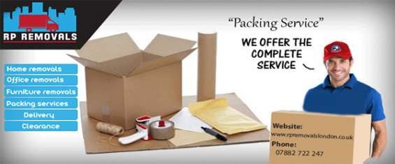 Make packing easy with rp removals