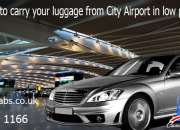 Carry Your Luggage from City Airport with Comcabs