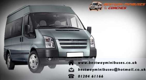 Get amazing cuts and discounts on minibus rentals