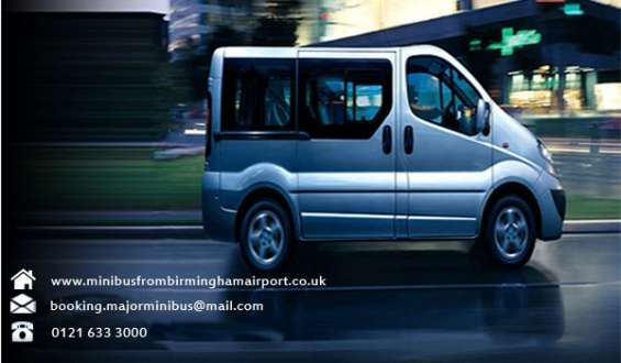 Book your minibus to travel around birmingham with ease and luxury