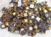 ceramic cpu gold scrap (high yeild) /Ac & fridge compressor scrap