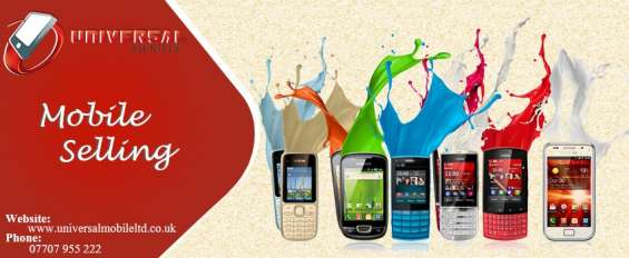 Sell your cellphone at reasonable rates with universal mobile