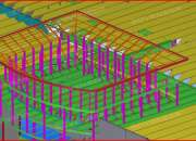 Structural drafting services world wide by steel construction detailing
