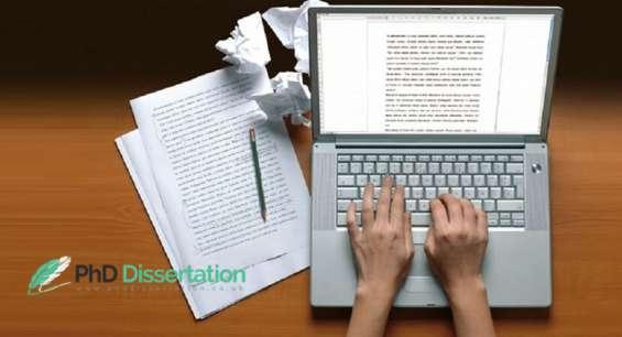 Phd dissertation services