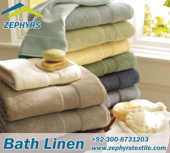 Bath towels manufacturer & exporter