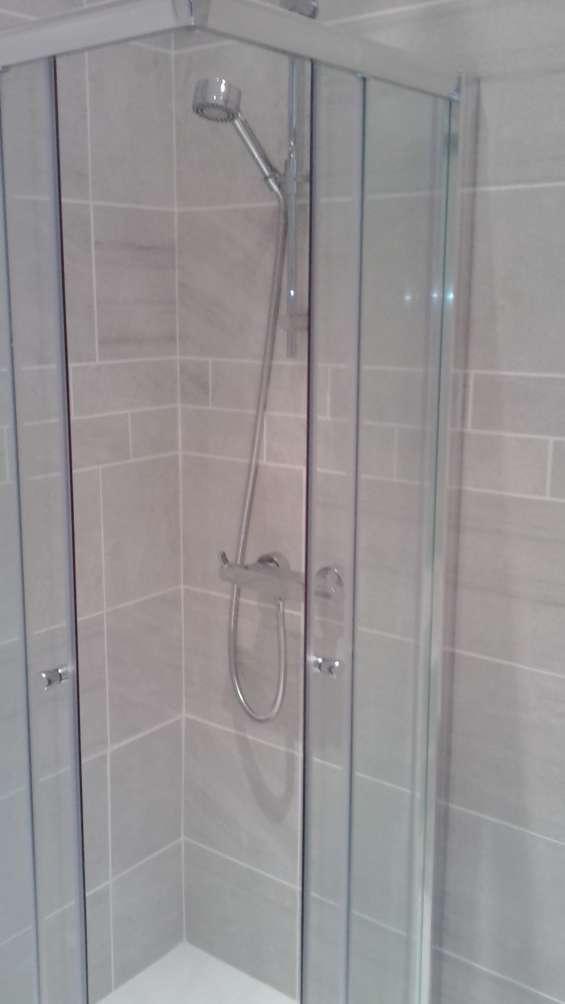 Bathroom renovation works