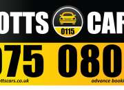 Efficient Nottingham Taxi Services by Notts Cars