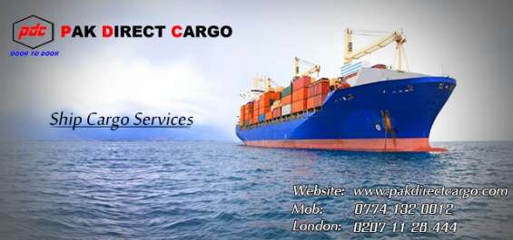 Have plans to send big parcels through sea cargo services? give us a call right now.