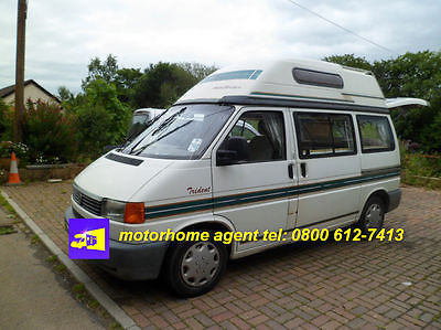 Campervans and motorhomes for sale