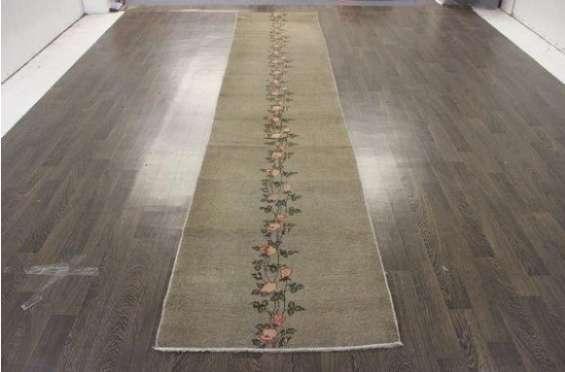 Buy traditional persian kashmar rug 15.3x2.8