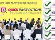Advanced web service providers - quick innovations