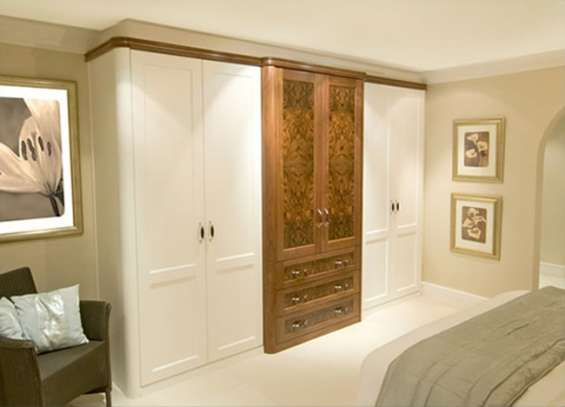 Installing fitted wardrobes