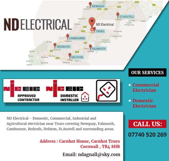 Electrical maintenance and repairs - nd electrical