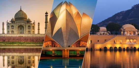 Online book golden triangle tour packages in india