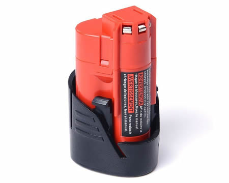 12v 2.0ah li-ion battery for milwaukee m12 m12b2 48-11-2401 48-11-2411