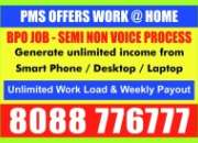 Online jobs | bangalore | make money