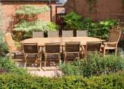 Teak garden furniture sets sale: choose the best one for your home