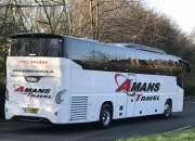 Medium coach hire for larger parties west midlands