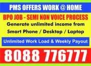Online copy paste jobs | online job | pms