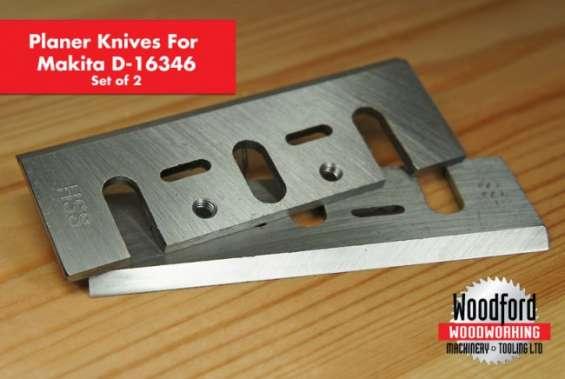 2 x set deal makita 82mm planer blades hss inlaid 82 x 29 x 3