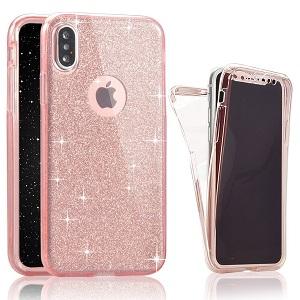 Glitter bling gel case for iphone 7/8