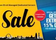 Save 15% on E3-v6 Managed Dedicated Servers