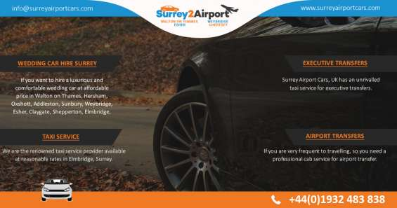 Sunbury airport taxi transfer services
