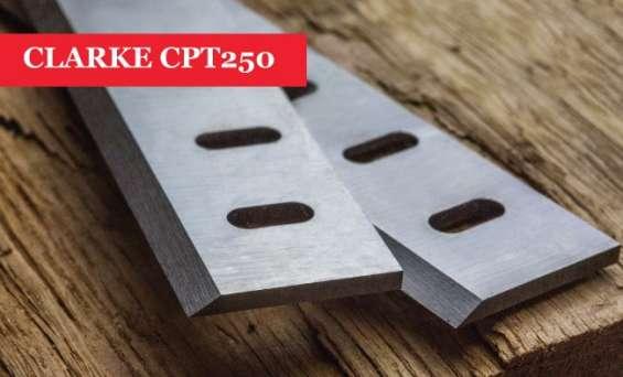 Clarke cpt 250 planer blades knives - 1 pair online