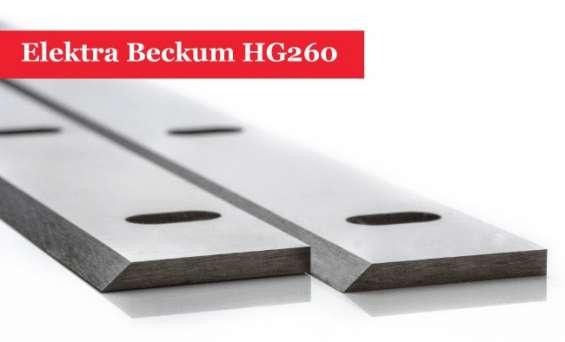 Elektra beckum hg260 planer blades knives online