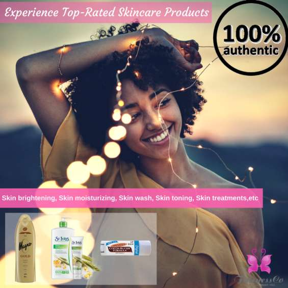 You name it...we have it! best quality #skincare products for #afroskin, available at discounted price at #fairnessco.