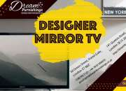 Designer mirror tv in london