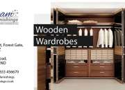 Wooden wardrobes in london