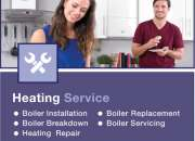 Come to us for central heating servicing in wilmslow