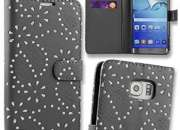 Flip Case Cover Pouch for Samsung Galaxy S6 Edge