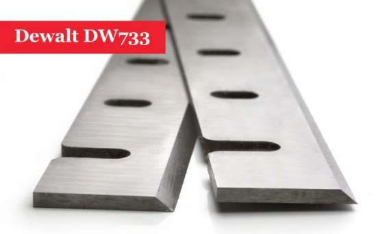 Dewalt dw733 planer blades knives de7330 - 1 pair