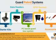 Wide range of guard patrol systems