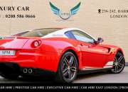 Book the cheap luxury car rental uk