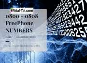 Create Big Business image with Freephone 0800 - 0808 Numbers