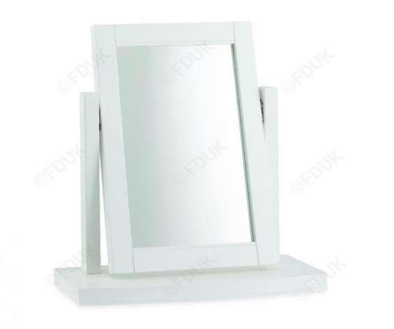 Bentley designs hampstead white vanity mirror