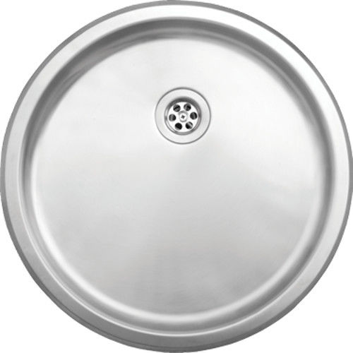 Stainless steel round bowl kitchen sink at topdoors