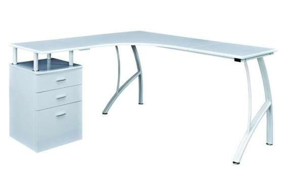 Purchase stylish burberry corner computer desk for home or office- furniture stop