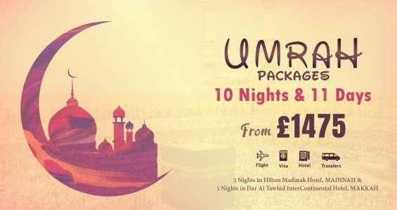 Umrah packages uk 2018