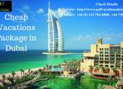 Cheap Vacations Package in Dubai