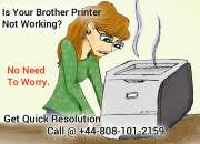 Instant Tech Support for Brother Printer at +44-8081012159