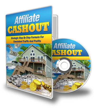 Affiliate cashout with dvd