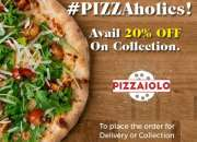 Pizza Takeaway: Offer 20% OFF on Collection