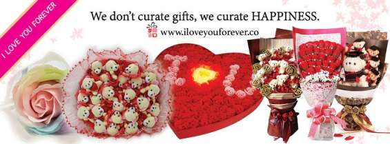 I love you forever flowers and gifts
